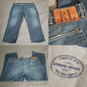 Polo Ralph Lauren Ashmore Jeans Denim Men Straight